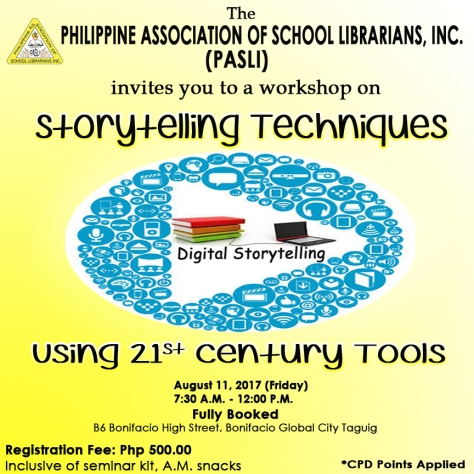 Storytelling techniques using 21st century tools - poster (1)